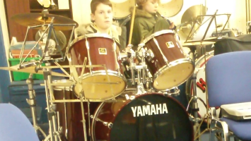 Financial Support Grant to support Ben meningitis after-effects - drumming