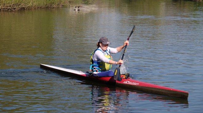 Bethan's marathon kayak fundraiser for Meningitis Now