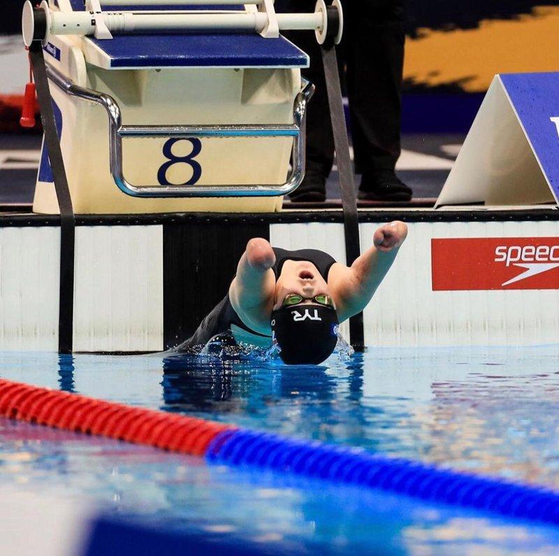 Meningitis survivor and amputee Ellie Challis wins Para Championship medal