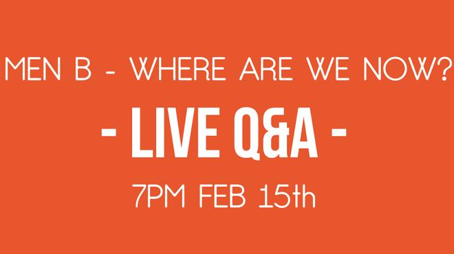 Facebook Live Graphic - MenB Q&A with Meningitis Now