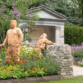 Chelsea Garden statues