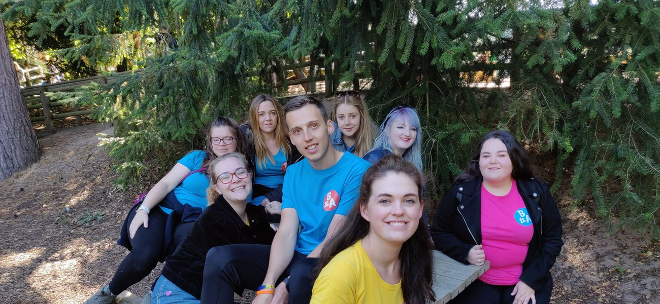 Meningitis Now supporters - B&A support weekend in Center Parcs