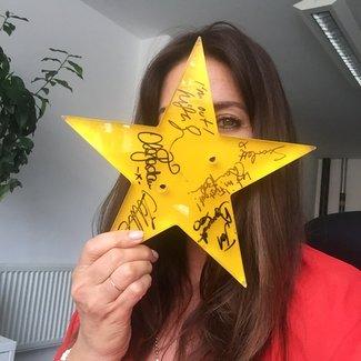 Meningitis Now celebrity ambassador Lisa Snowdon Star