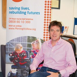 Meningitis Now Patron and Ambassador Dr Mark Porter