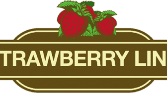 Meningitis Now - Strawberry Line logo