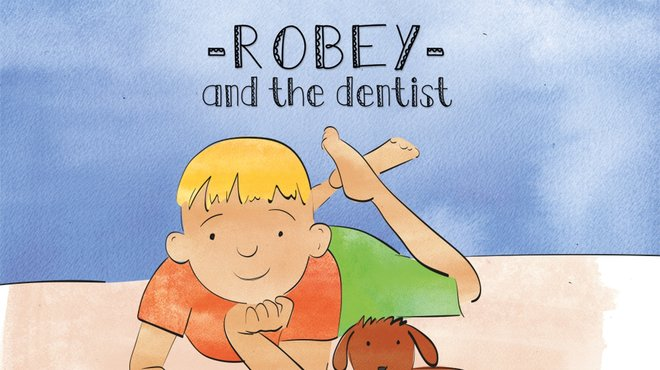 Robey and the dentist - fundraising book for Meningitis Now