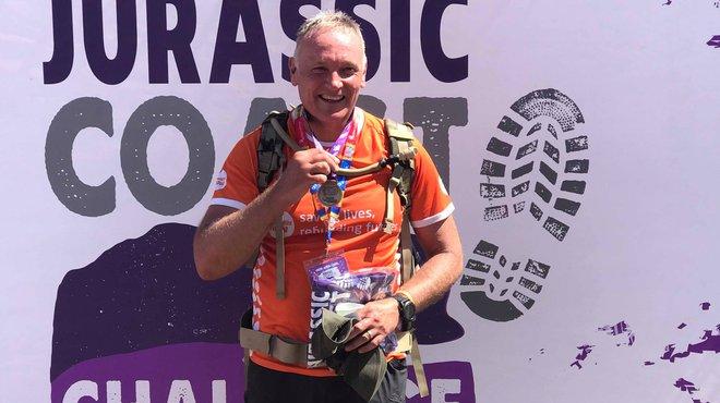 Paul Gentry ultra distance fundraising treks for Meningitis Now
