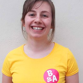 Meningitis Now Believe & Achieve B&A staff member Ellie Murray