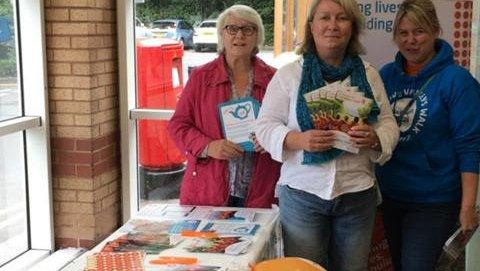 Meningitis Now Volunteering news September