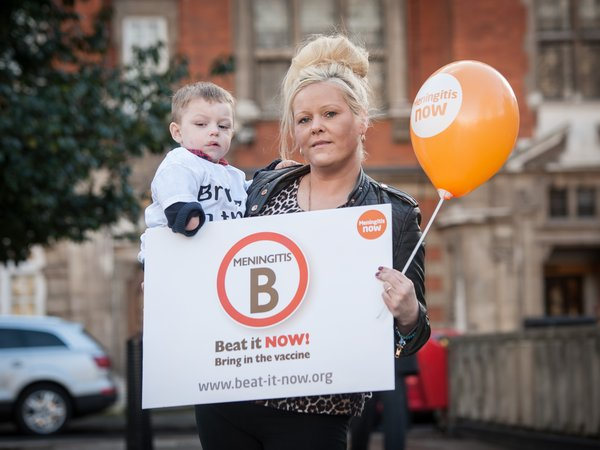 Beat it Now meningitis vaccine campaign - Tommy and Julie