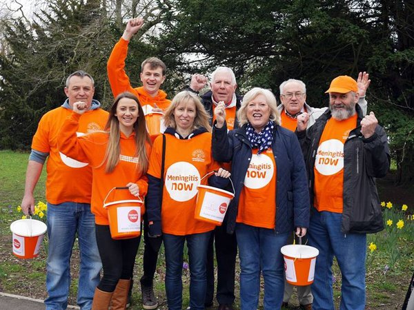 Meningitis Now volunteers